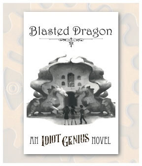 Blasted Dragon Front Postcard Display