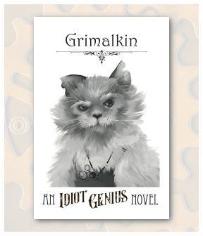 Grimalkin Front Postcard Display