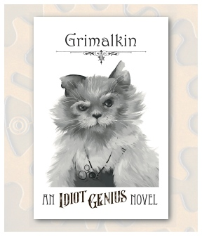 Grimalkin Front Postcard Display
