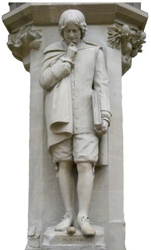 Isaac_Newton_statue 2