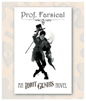Prof Farsical Front Postcard Display